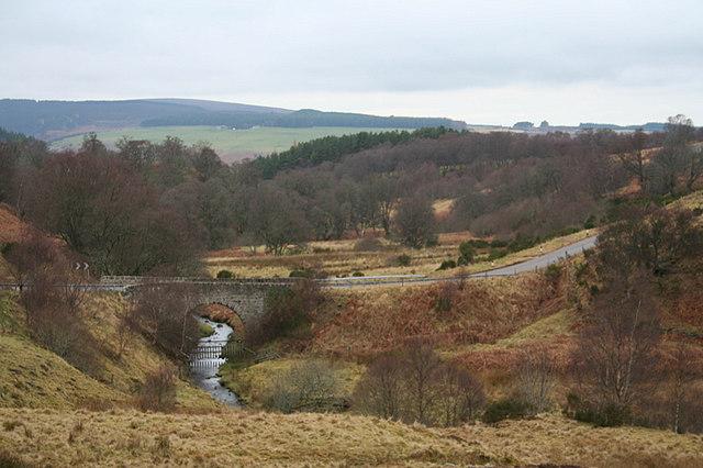 Bridge of Aultahuish over Coldburn.