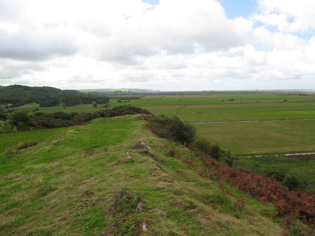 View along the ridge, Ynysfach