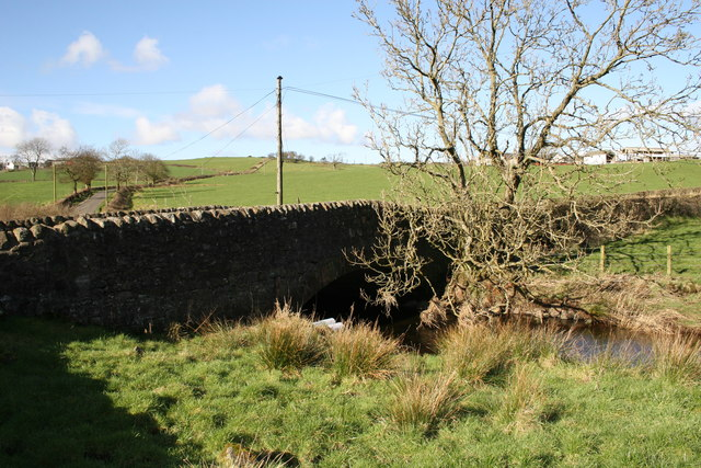 Bridge over Locher Water