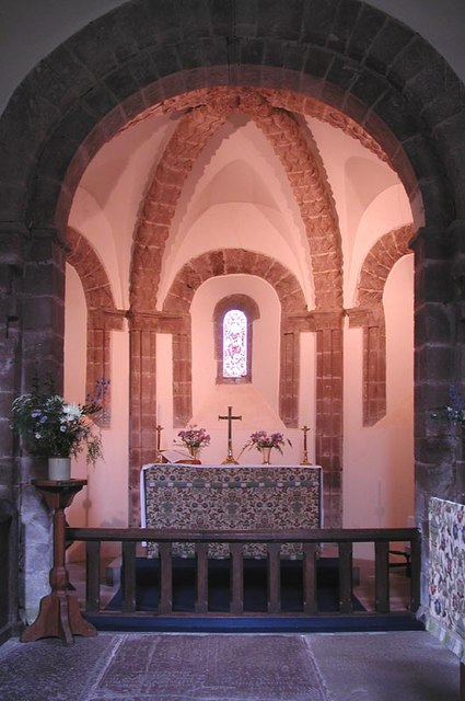 St Mary & St David, Kilpeck, Herefordshire - Chancel