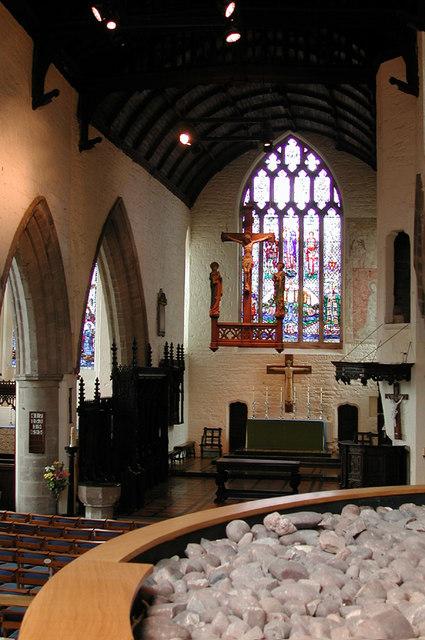 All Saints Church, Hereford - East end
