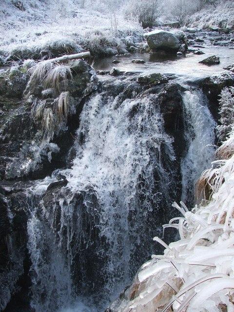 Severn Break-its-neck waterfall