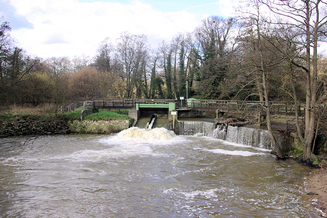 Weir on Rother