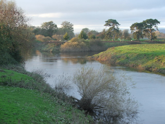 River Severn/Vyrnwy confluence