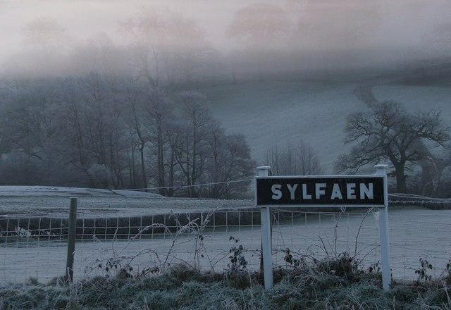 Sylfaen station sign