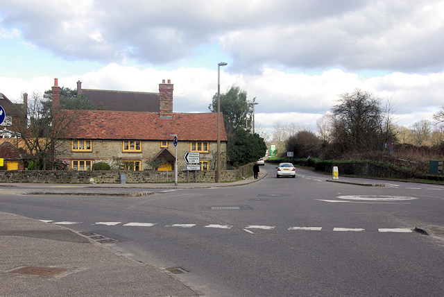 A286/A272 Junction, Easebourne.