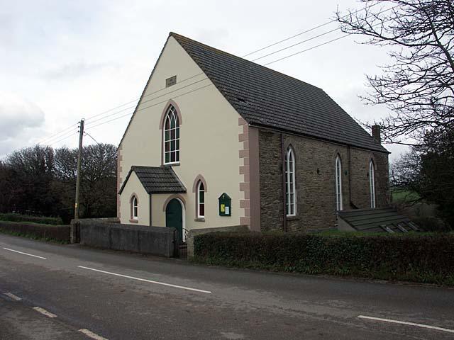 St. Feock Methodist Church. Built in 1866