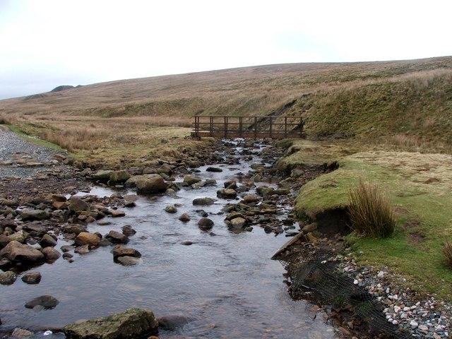 New Footbridge Across Little Dale Beck.