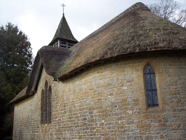 Roof and tower of St Georges Church, Langham