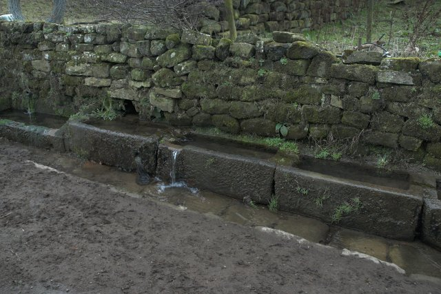 Stone troughs, Broom Hill