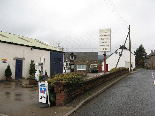 Garage, Kirkmichael