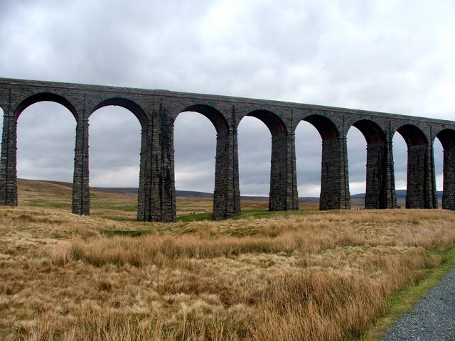 Ribblehead Viaduct.