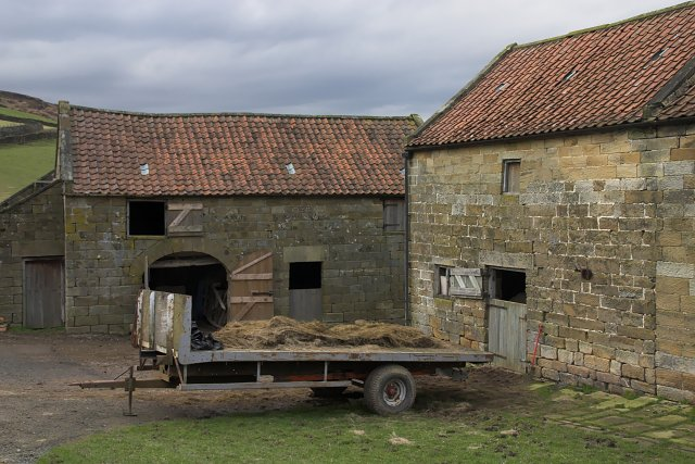 Farm buildings at Frost Hall