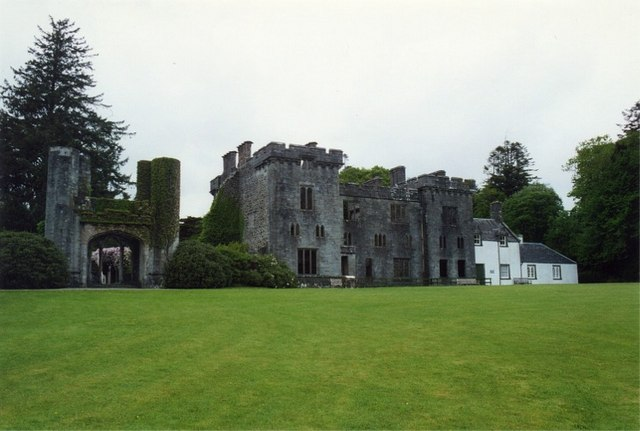 Remains of Armadale Castle, Skye