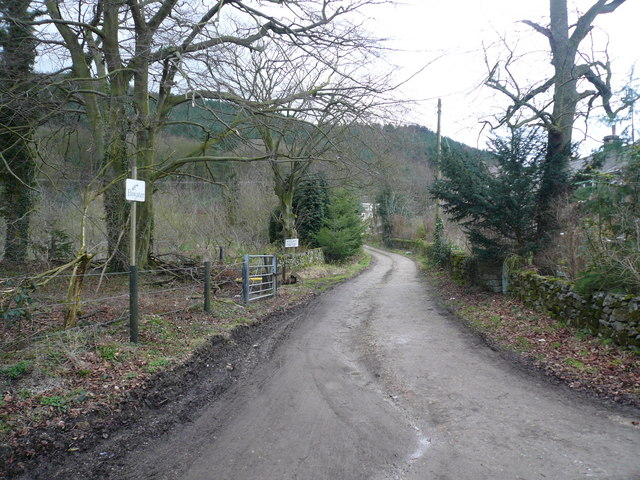 Overton - Path to Cottages