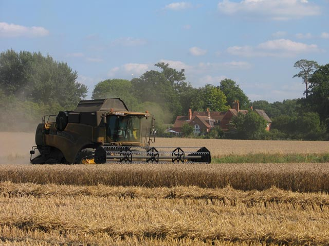 Combine at Winchfield