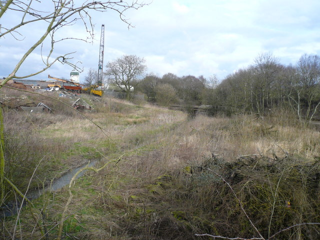 Danesmoor - Pit Lane view of River Rother