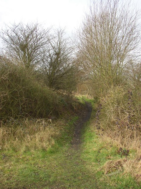Footpath near Anchor Place, Rastrick
