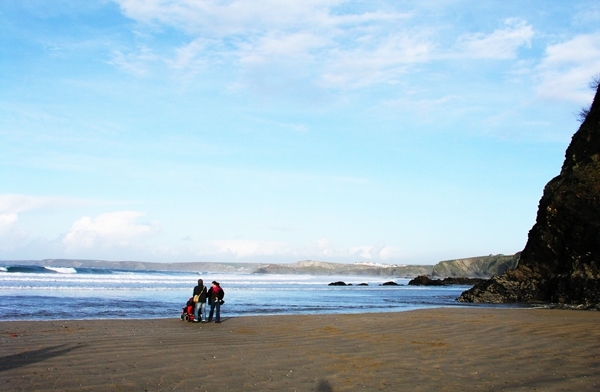 Newquay in the Winter