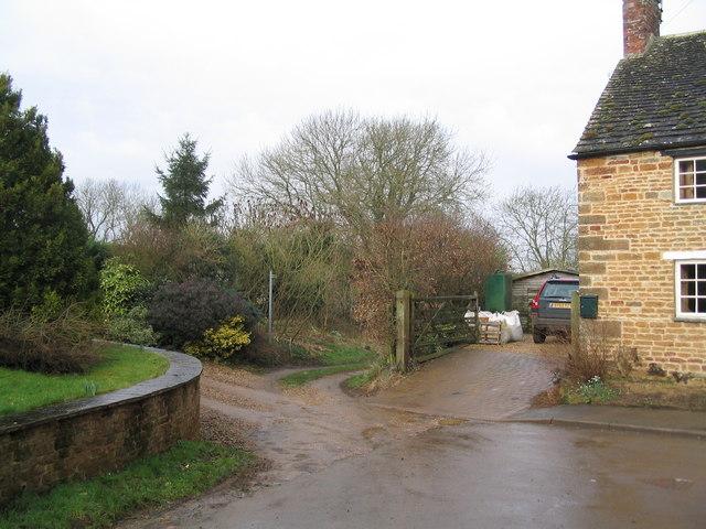 West end of Main Street, Ridlington