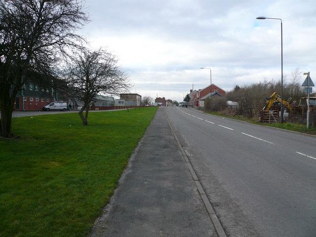 Danesmoor - Pilsley Road View