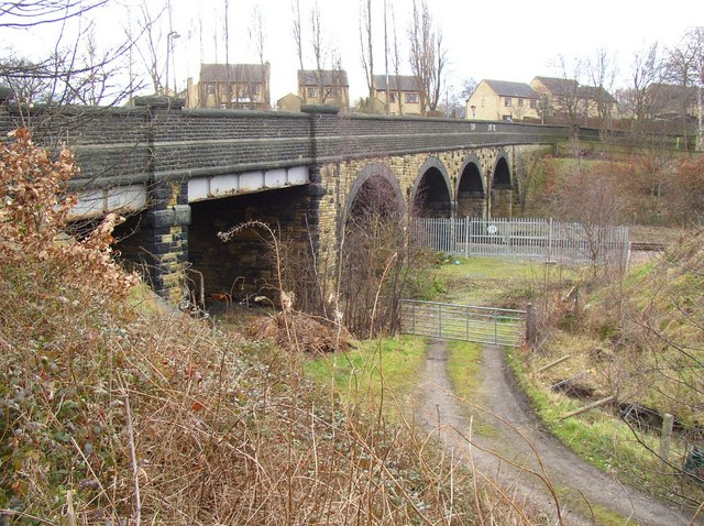 Railway Bridge, Woodhouse Lane, Rastrick