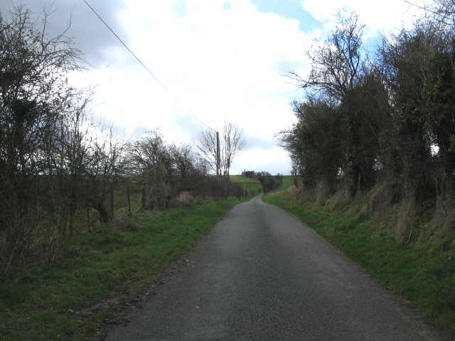 Lane to Whiten Hill