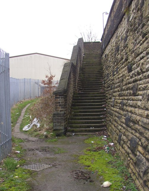 Steps, Woodhouse Lane, Rastrick