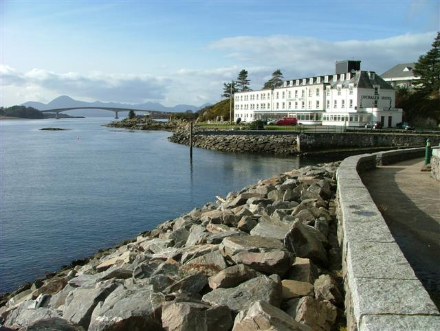 Lochalsh Hotel and The Skye Bridge
