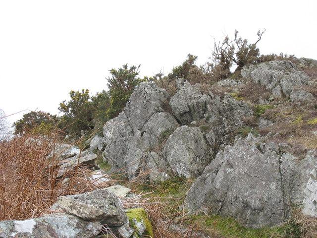 The rocky path to Brynrefail