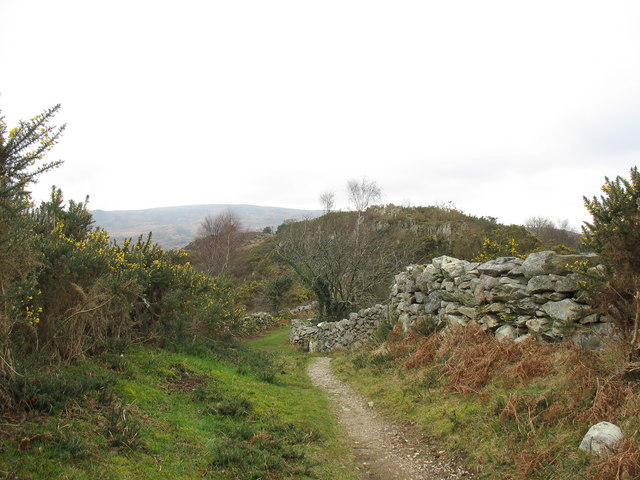 The Deiniolen-Brynrefail path