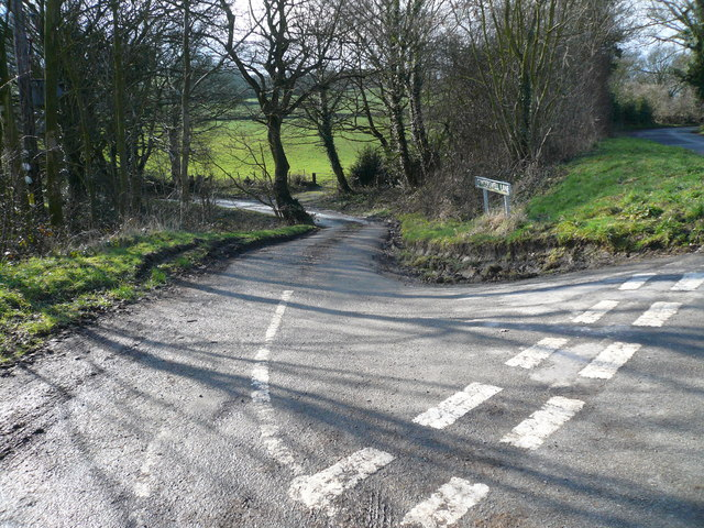 Grinderswell Lane - Junction with Press Lane