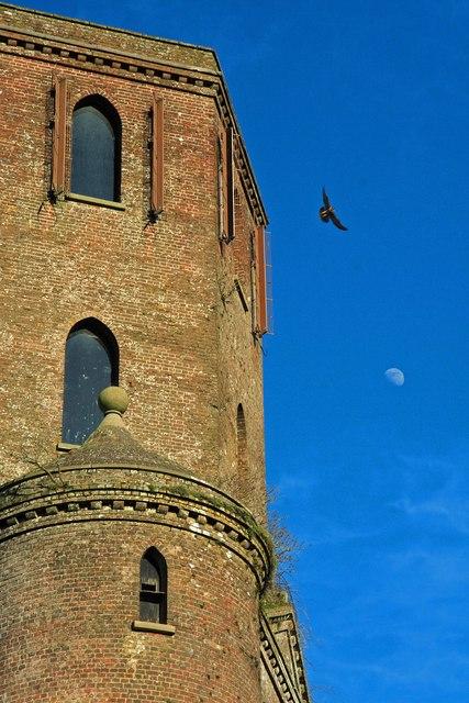 Horton Tower & moon