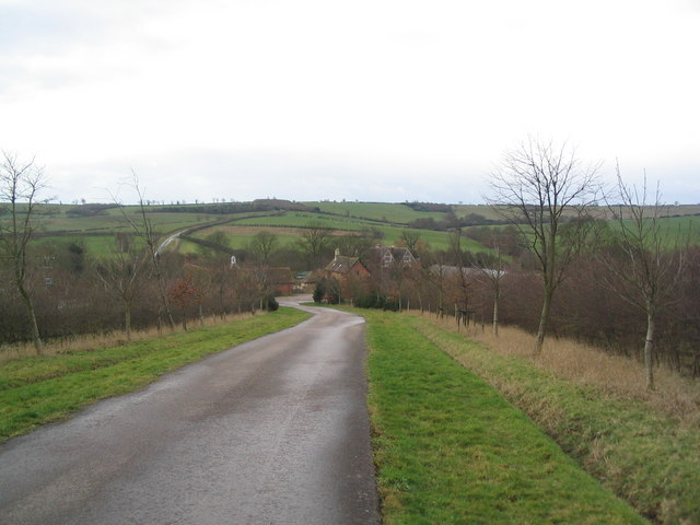 Macmillan Way south across the Chater valley