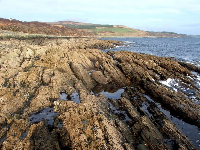 Rocky Shoreline at Coille Rubha Dhuibh.