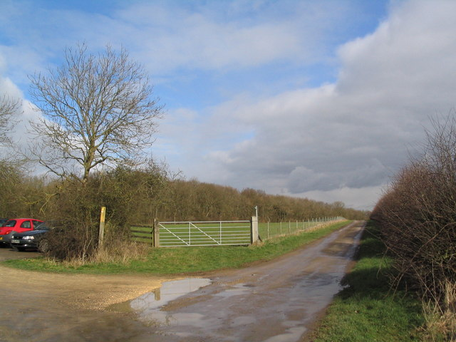 Macmillan Way & Leighfield Way near Leigh Lodge