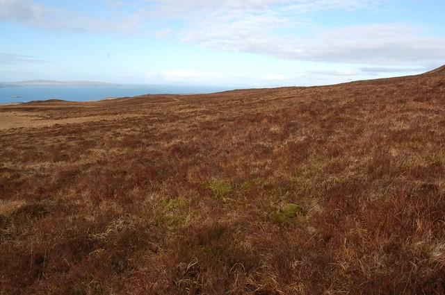 Western slopes of Beinn a' Sga