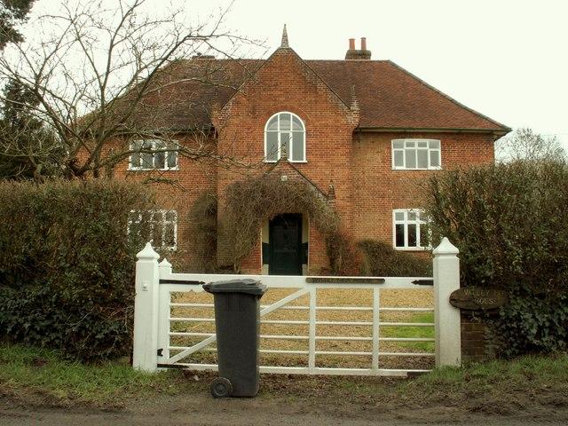 Farmhouse at Valley Farm, on the B.1077