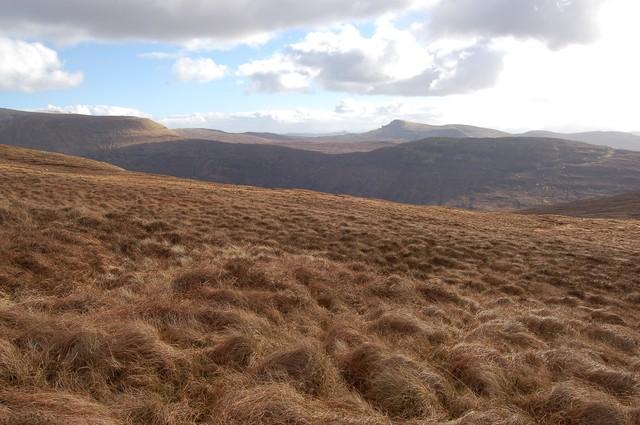 South east slopes of Beinn a' Sga