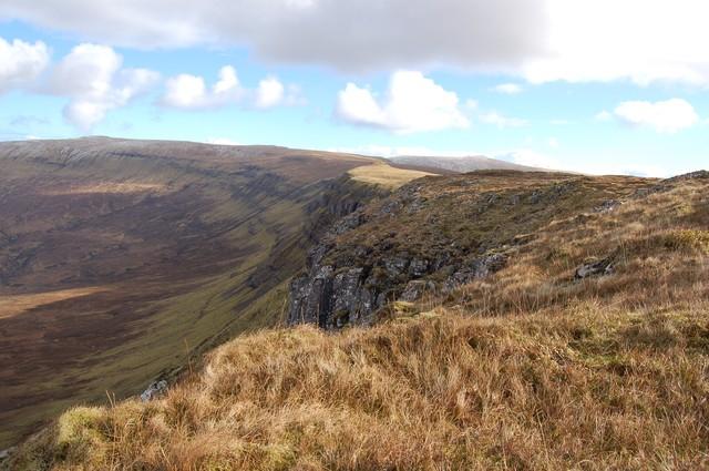 North edge of Beinn a' Sga summit