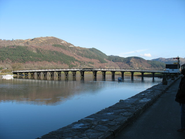 Toll Bridge at Penmaenpool