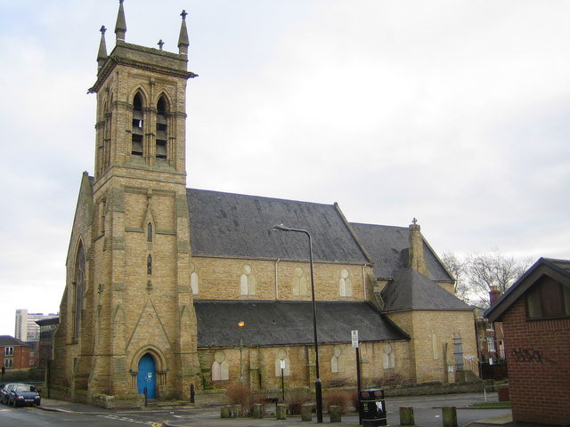 Sheffield: St Silas Church, Broomhall