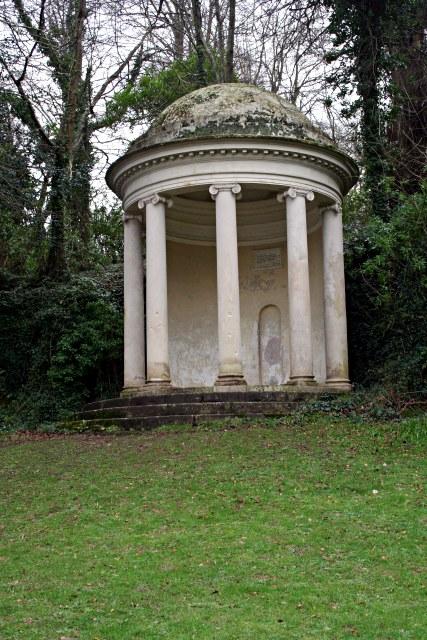 Milton's Temple