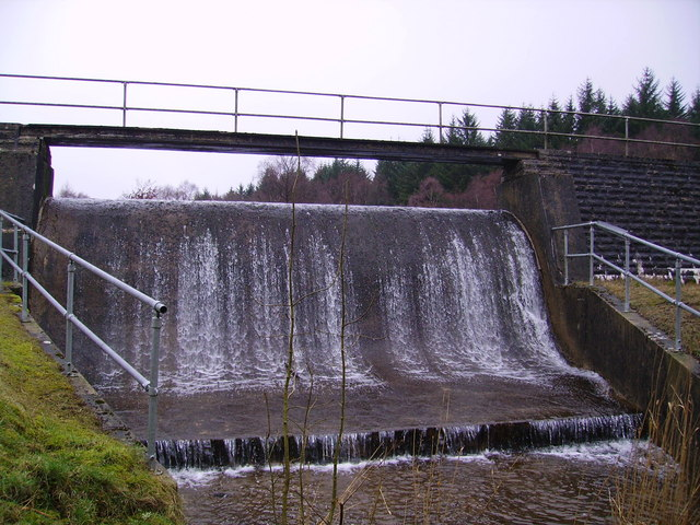 Spillway, Simpson Ground