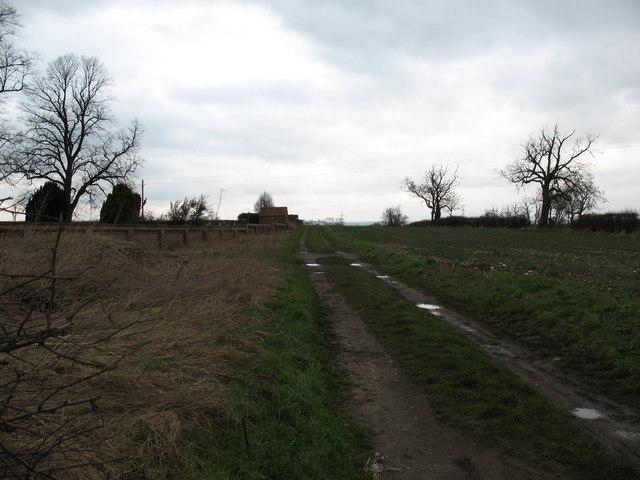 Footpath to Ox Close lane