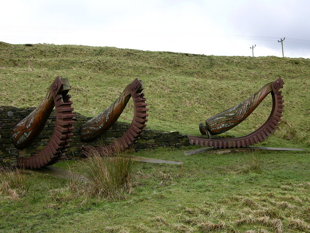 Sculpture - Irwell Sculpture Trail near Lumb