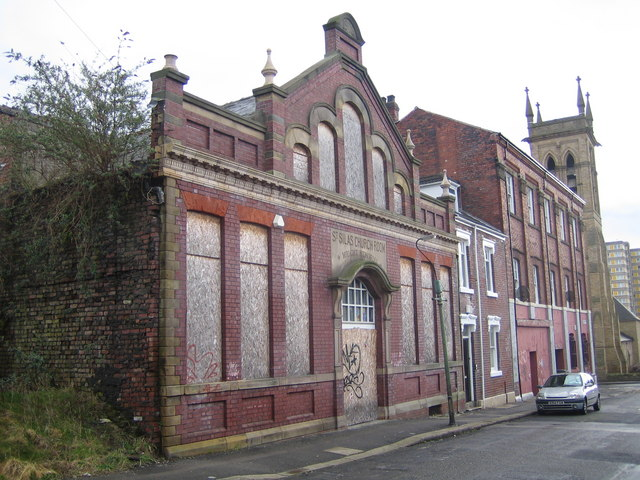 Sheffield: St Silas Church Room, Broomhall