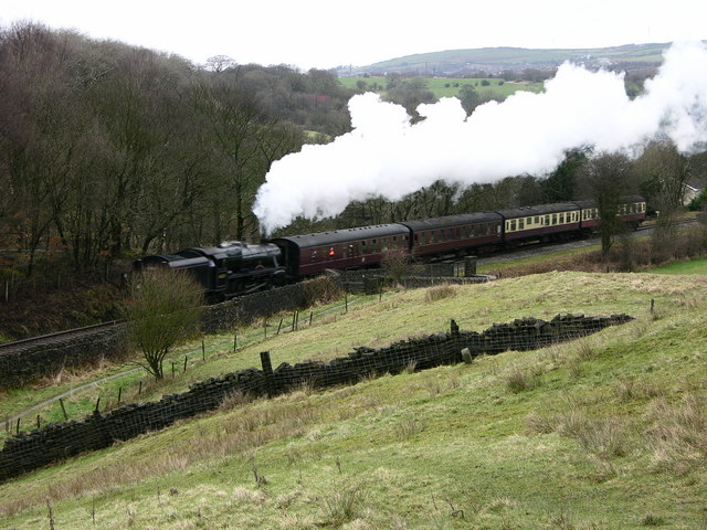 Steam train - East Lancs Railway