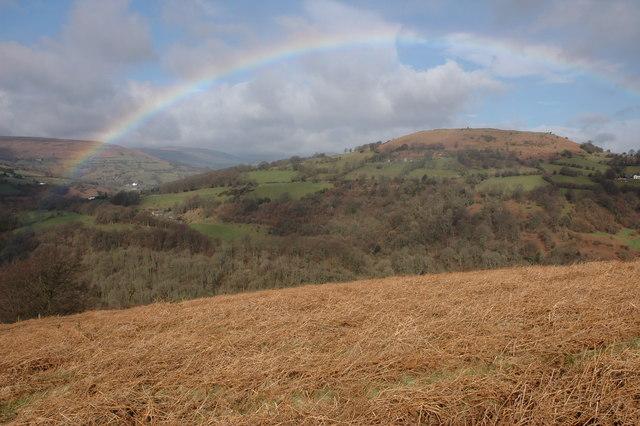 Rainbow over Gaer