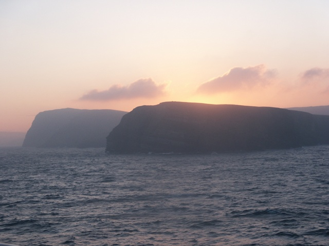 Bard Head from Lerwick to Bergen ferry